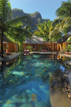 Dinarobin Hotel, Mauritius. Designed for rejuvenation and rest.