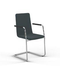 sitting smart. Freischwinger für ansprechende Konversationen mit beschwingtem Sitzgefühl