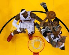 e1b41fb6372 Miami, FL - June 20: Kawhi Leonard, Chris Andersen and LeBron James Sports