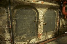 Old North Church crypts.