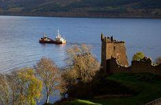 Viaje al encuentro del monstruo del Lago Ness, Inverness, Escocia