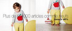 Troc et vente de vêtements, livres, DVD pour enfants - too-short