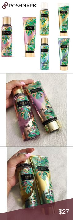 NEVER USED Victoria's Secret fragrance mist/lotion Victoria's Secret, fragrance mist and lotion.                                                                                                                                                                                                                                                                     Fast shipper  Accept reasonable offers  I do bundle discounts too                                                No trades Victoria's…