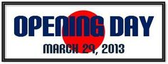 Nippon Professional Baseball'sOpening Day - March 29, 2013
