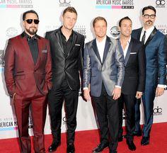 Backstreet Boys - You all still look great! #ama2012