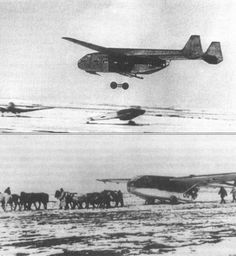 """Transport and assault gliders """"Gotha"""" Go 242 actively used to supply surrounded by Luki groups Wehrmacht."""