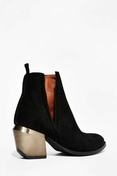 Jeffrey Campbell Orwell Suede Ankle Boot   Shop Shoes at Nasty Gal!