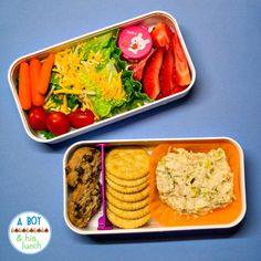 Bento lunch in a monbento box