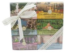 Nesti Dante Emozioni In Toscana Bar Soap Gift Set 6 X 150g