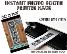 Instant Photo Booth Printer Hack