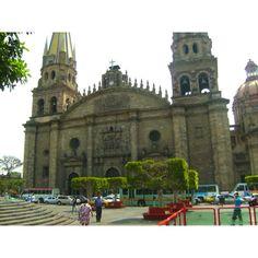 Cathedral in Guadalajara Jalisco Mexico