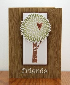 trees and woodgrain = lush. by lisa carroll.