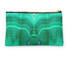 Malachite Studio Pouch by lightningseeds® for crystalapertures.rocks.