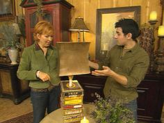 Trash to Treasure: Old Cigar Boxes    Sasha Andreev shows Joan Steffend some smokin' ideas for old cigar boxes.