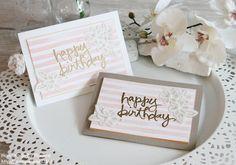 Stampin Up Geburtstagskarte Birthday Card Karte Stempelset Watercolor Words Stempelset Brushstrokes Stempelmami Nadine Koeller 013