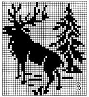 Bilder på veggen til felleskapet – bilder Fair Isle Knitting Patterns, Crotchet Patterns, Crochet Stitches Patterns, Knitting Charts, Knitting Designs, Beaded Cross Stitch, Cross Stitch Embroidery, Cross Stitch Charts, Paper Embroidery