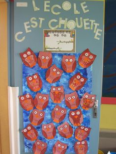 D co portes de classe on pinterest for Idee decoration porte de classe
