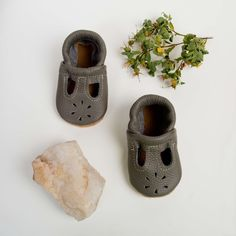 True Grey T-Strap Shoes Baby and Toddler
