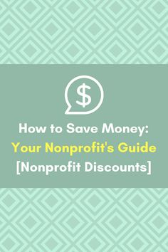 Nonprofit Discounts! How to save money for your church and more.