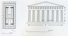 parthenon plan - Google Search