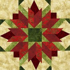 "Seasonal Quilt Blocks 12X12 | Bursting Buds 18"" Seasonal Block. Four different colorways. An ..."