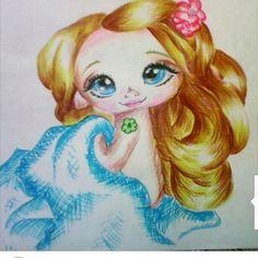 Она еще одну нарисовалааааа!!!!!!!Сюрпризы от моей @promokashka777  Заечка моя)))Спасибо!!!