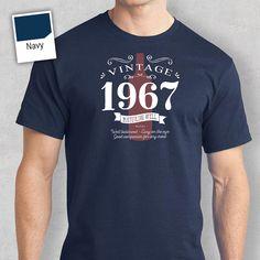 50th Birthday, 1967 Birthday, 50th Birthday Gift, 50th Birthday Present. 50th Birthday Idea, 1967 Birthday, Birthday Shirt, 50 Birthday!