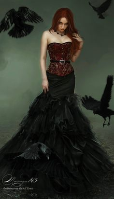I can see Elizabeth wearing something like this...
