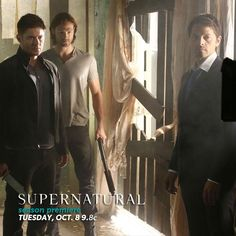 Oh my God! Where's Cas' trenchcoat? He looks naked!