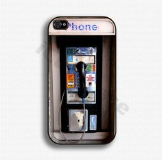 iPhone 4s case - LOL the case is an ole public phone