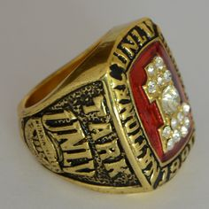 Just listed this in my store 1990 national UNL... Check it out here! http://championshipringsandmore.com/products/1990-national-unlv-tark-national-championship-replica-ring-las-vegas-basketball?utm_campaign=social_autopilot&utm_source=pin&utm_medium=pin