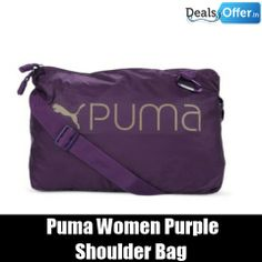 Puma Women Purple Core Shoulder Bag @ 20% Off