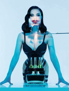 PHOTO✰EXPOSÉ : Dita von Teese by Ali Mahdavi