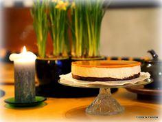 Eilistä paistoa: Suklainen tyrni-juustokakku - gluteeniton