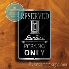 Classic Style De Tomaso Pantera Sign – Gift for De Tomaso Owner – UV Protected Weatherproof Signs Suitable for Outdoor or Indoor Use – Exclusively from Classic Metal Signs. Open Close Sign, Reserved Parking Signs, No Soliciting Signs, Cafe Sign, Sports Signs, Man Cave Signs, Garage Signs, Business Signs, Room Signs