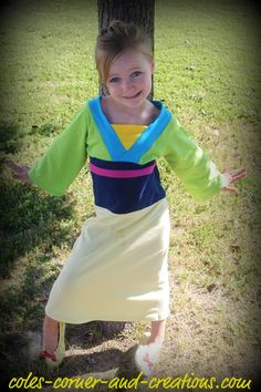 Mulan Costume for Kids perfect for dress-up Halloween or a trip to a Disney park. #affiliatelink #halloween #disneyprincess #mulan | Halloween | Pinterest  sc 1 st  Pinterest & Mulan Costume for Kids perfect for dress-up Halloween or a trip to ...