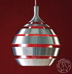 Red Futuristic Lampshade
