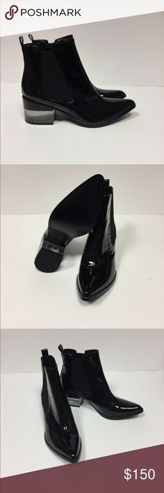 """RACHEL ZOE """"PERRY"""" PATENT BOOTIES Sold out Rachel Zoe """"PERRY"""" patent leather bootie. Originally $398 brand new. Size 6. Rachel Zoe Shoes Ankle Boots & Booties"""