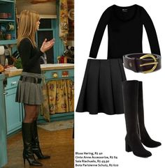 Rachel Green, de Friends - Roube o look