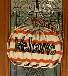 Hey, I found this really awesome Etsy listing at https://www.etsy.com/listing/158505547/pumpkin-fall-pumpkin-door-hanger