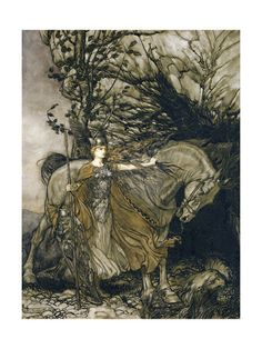 Brunhilde; Rackham  , Posters and Prints at Art.com