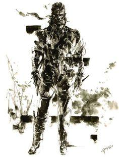 Yoji Shinkawa_Metal Gear