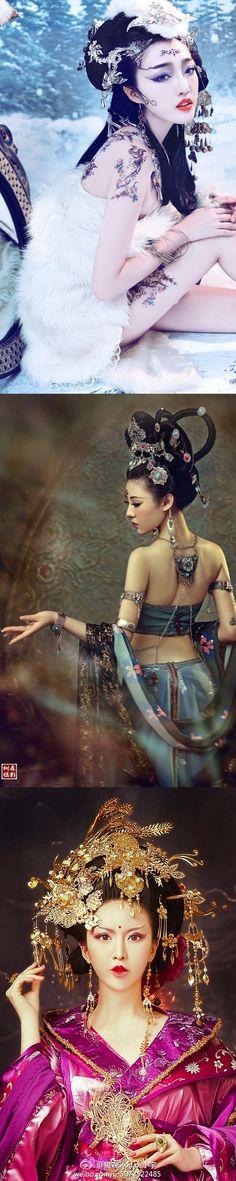 Art chinese fashion 微博