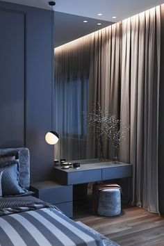 Minimalist Dressing Table Designs for Luxurious Bedrooms Modern Luxury Bedroom, Luxury Bedroom Design, Master Bedroom Interior, Room Design Bedroom, Bedroom Furniture Design, Home Room Design, Luxurious Bedrooms, Home Decor Bedroom, Home Interior Design