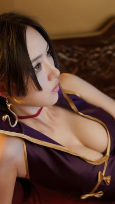 Boa Hancock Hot Cosplay by Thai Model I See Stars, Real Anime, One Piece, Beautiful Costumes, Thai Model, Best Cosplay, Trending Memes, Game Character, Fotografia