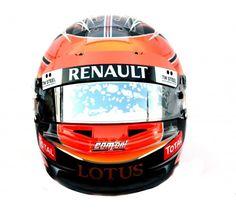 Romain Grosjean's Helmet 2012