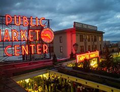 """Seattle's first farmers market, established in 1907. We proudly continue the """"Meet the Producer"""" tradition, 362 days a year."""