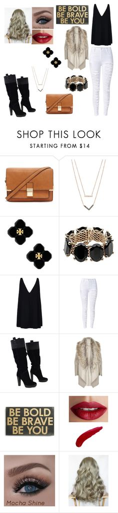 """being me"" by briannal-porch ❤ liked on Polyvore featuring Forever 21, Michael Kors, Tory Burch, Valentino, STELLA McCARTNEY, BCBGMAXAZRIA, River Island, Primitives By Kathy and TheBalm"