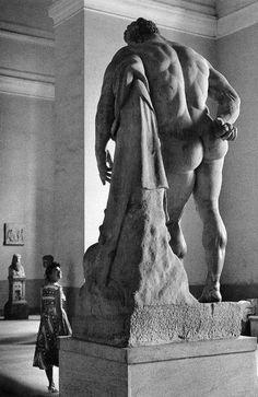 Farnese Herakles the Makedon Naples, Italy // Herbert List