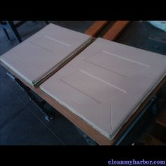 Air Tech First SmartFoam Pads #airtech We help to keep our marine environment clean and oil-free. http://cleanmyharbor.com